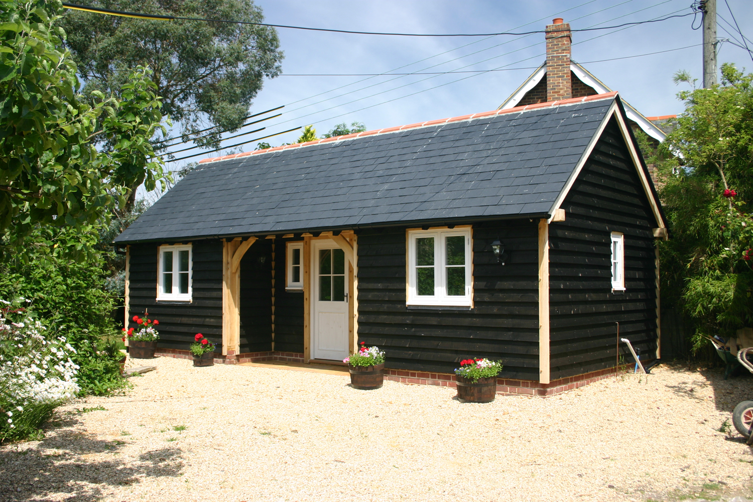Oak Framed Garden Rooms Wiltshire Garden Ftempo