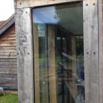 green oak direct glazing