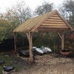 Green oak carport