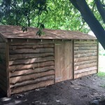 Shed was supplied and fitted in Whiteparish
